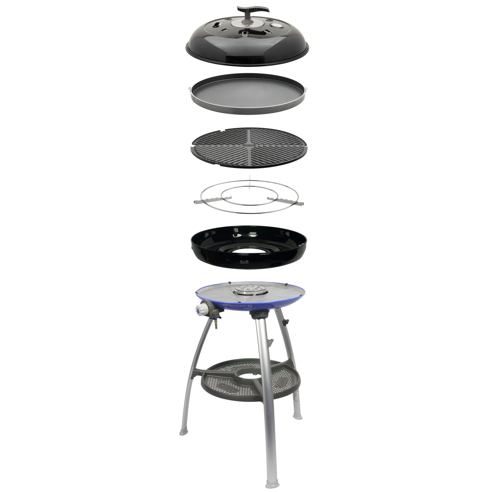 Cadac Carri Chef Deluxe.Cadac Carri Chef 2 Bbq And Chef Pan Combo
